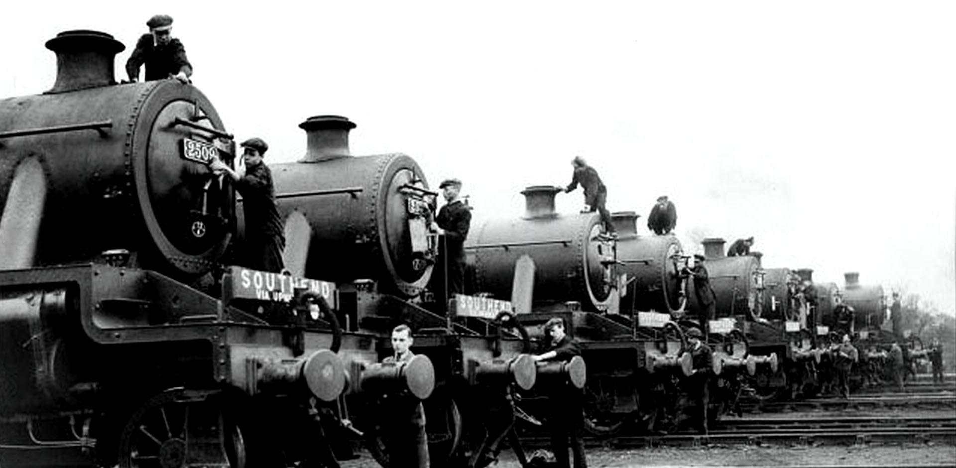 anciens transports sur rails en inde