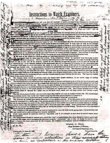 Инструкции 1888 года