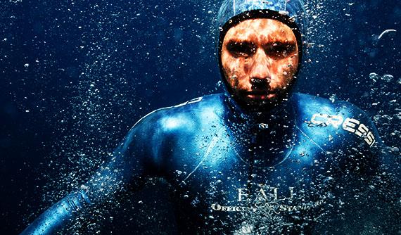 [INFO] Guillaume Néry batió el récord de Francia de apnea a 125 metros en septiembre de 2013.